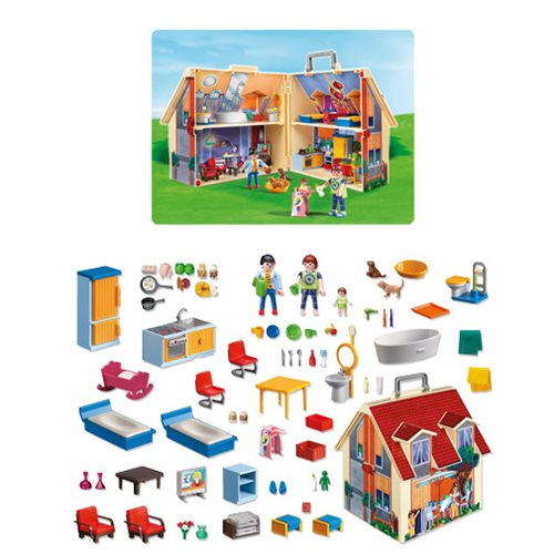 Playmobil 5167 Take Along Modern Doll House Playset