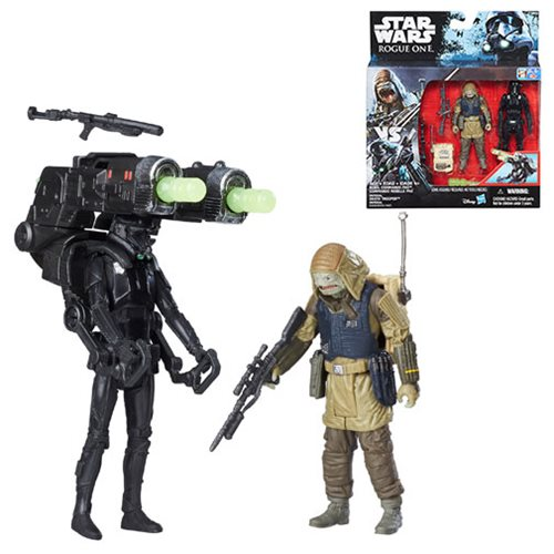 Star Wars Rogue One Rebel Commando Pao and Death Trooper Action Figure Set