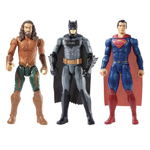 Justice League Movie Basic 12-Inch Wave 1 Action Figure Case