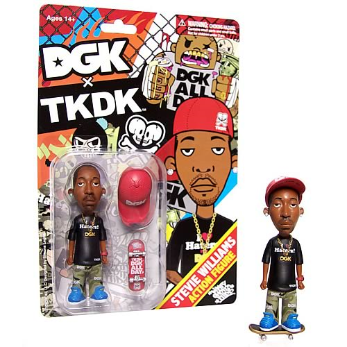 Tokidoki DGK Stevie Williams Action Figure