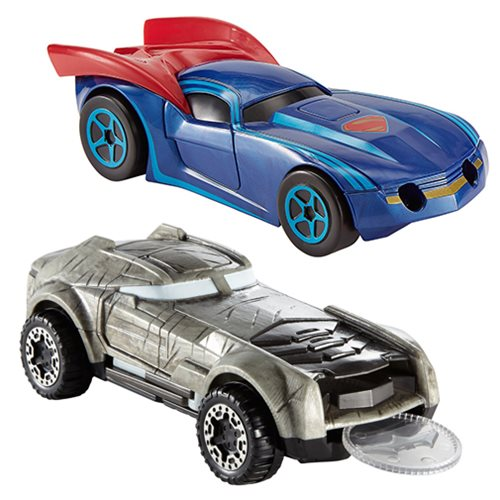 Hot Wheels DC Character Car 1:50 Scale Vehicle Case