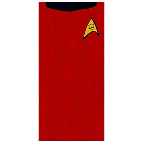 Star Trek Scotty Red Beach Towel