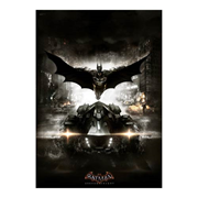 Batman Arkham Knight Batmobile MightyPrint Wall Art Print