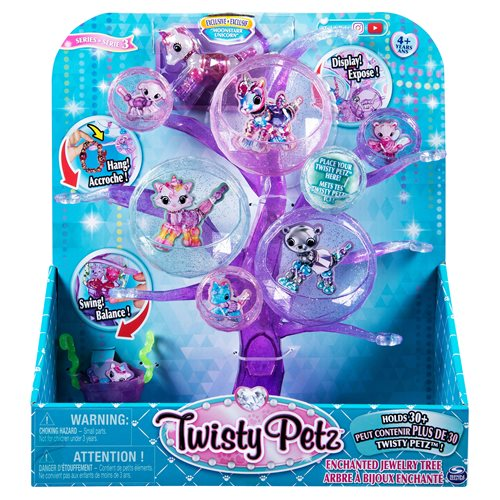 Twisty Petz Enchanted Jewelry Tree with Bracelet