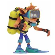 Crash Bandicoot Warped Scuba Crash Deluxe Action Figure
