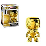 Marvel 10th Anniversary Chrome Iron Man Pop! Vinyl Figure