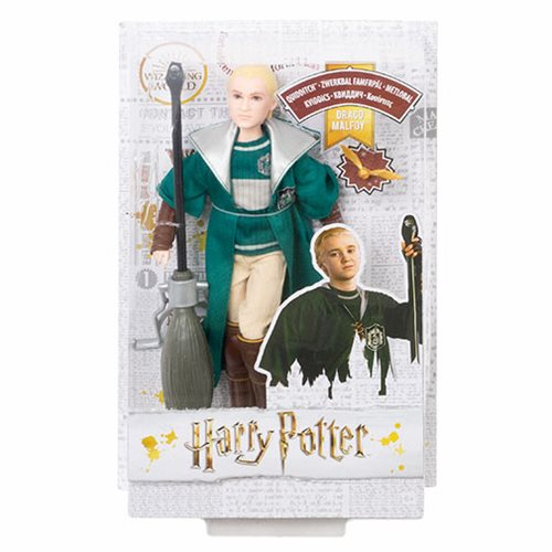 Harry Potter Draco Malfoy Quidditch Doll