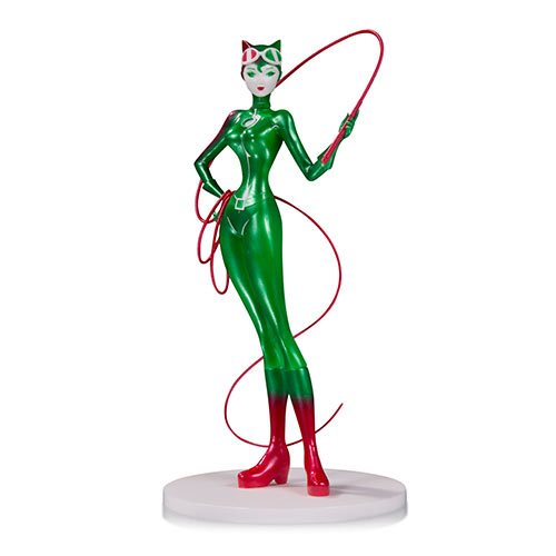 DC Comics Artists' Alley Catwoman Holiday Variant by Sho Murase Designer Vinyl Statue