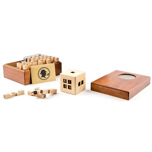 The Sherlock Wooden Puzzle Game