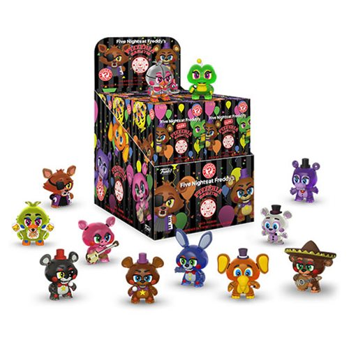 FNAF Pizza Simulator Mystery Minis Display Case
