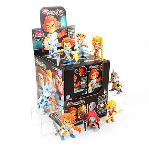 Thundercats 3-Inch Series 1 Mini-Figure Display Case