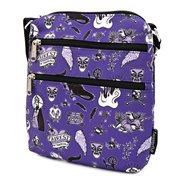 Villains Icons Print Crossbody Nylon Purse
