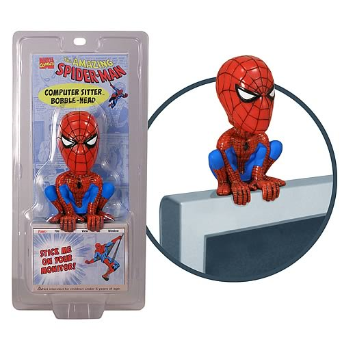 Spider-Man Computer Sitter Bobble Head