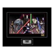 Star Wars The Clone Wars Shadow of the Sith Giclee Print