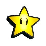 Super Mario Super Star Light with Sound Lamp