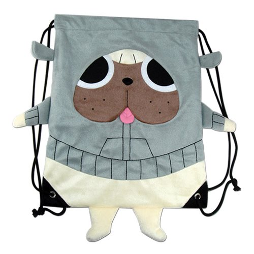 Kill la Kill Gattsu Plush Drawstring Bag