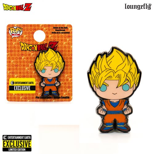 Dragon Ball Z Super Saiyan Goku Pop! Enamel Pin - Entertainment Earth Exclusive