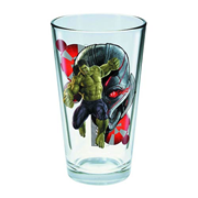Avengers: Age of Ultron Hulk Toon Tumbler Pint Glass