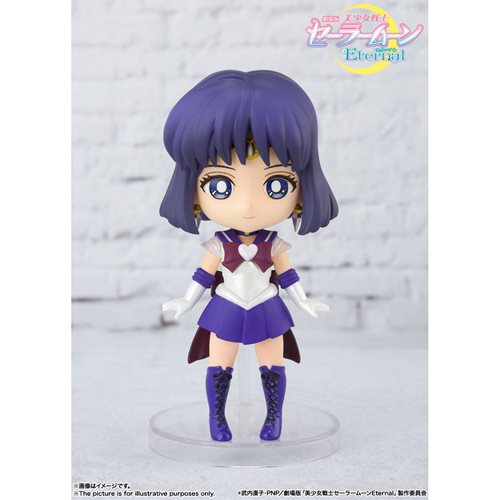 Pretty Guardian Sailor Moon Eternal Super Sailor Saturn Eternal Edition Figuarts Mini Mini-Figure