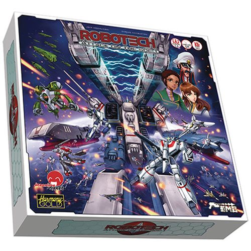 Robotech Attack on the SDF-1 Cooperative Board Game
