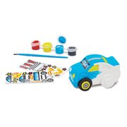 Melissa & Doug Created by Me! Race Car Bank Craft Kit