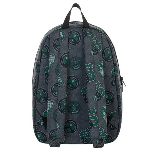 Harry Potter Slytherin Print Backpack