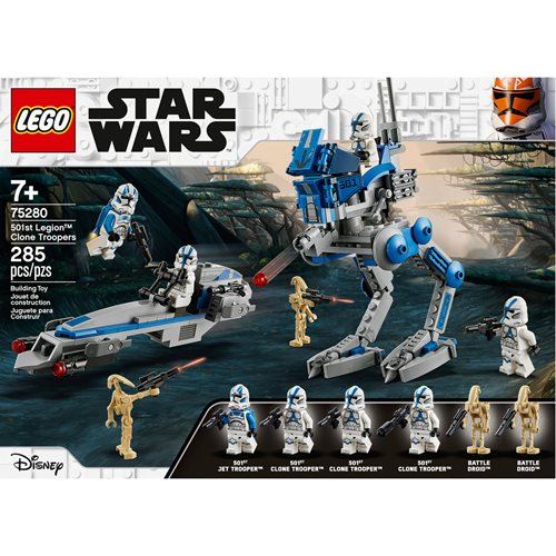 LEGO 75280 Star Wars 501st Legion Clone Troopers