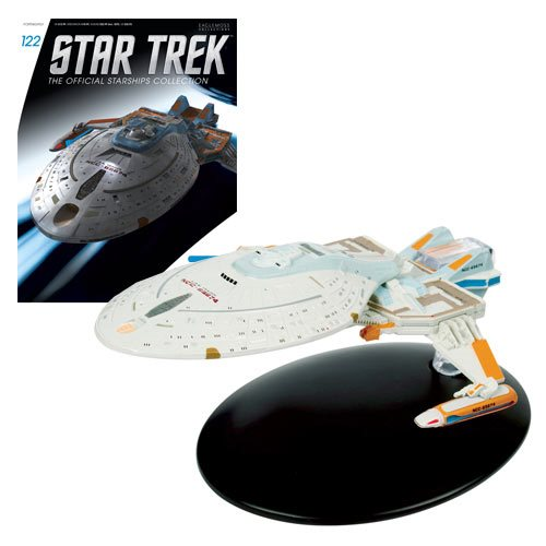 Star Trek Starships Yeager Class Vehicle with Magazine #122