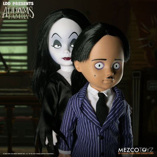 LDD Presents The Addams Family Gomez and Morticia Dolls 2-Pack