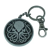 Cthulhu Tribal Metal Key Chain