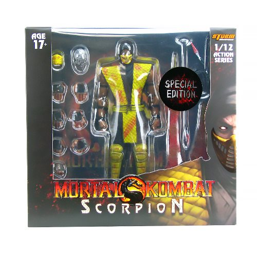 Mortal Kombat Scorpion Bloody Special Edition 1:12 Action Figure