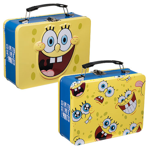SpongeBob SquarePants Large Tin Tote