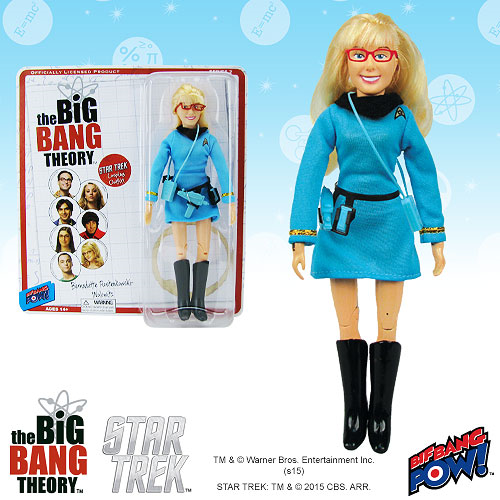The Big Bang Theory / Star Trek: The Original Series Bernadette 8-Inch Action Figure