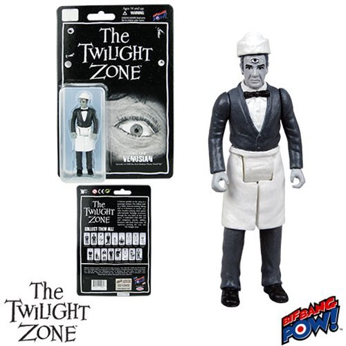 The Twilight Zone Will the Real Martian Please Stand Up Three-Eyed Venusian 3 3/4-Inch Action Figure Series 2