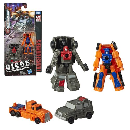 Transformers Generations War for Cybertron Siege Micromasters Off Road Patrol