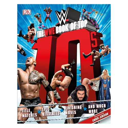 The WWE Book of Top 10s Paperback Book