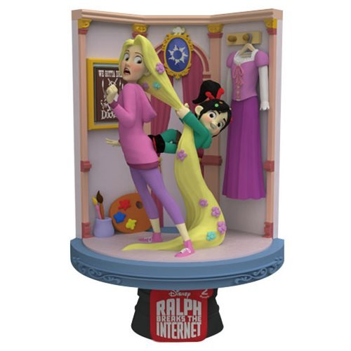 Ralph Breaks the Internet DS-027 Rapunzel D-Stage Series 6-Inch Statue - Previews Exclusive