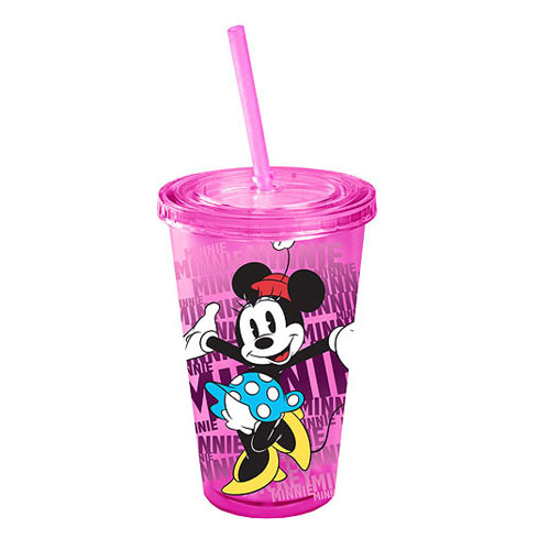 Minnie Mouse Disney Plastic Travel Cup