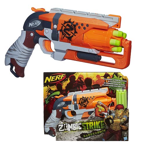 Nerf Zombie Strike Hammershot Blaster Entertainment Earth