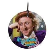 Willy Wonka and the Chocolate Factory Wonka StarFire Prints Hanging Glass Ornament