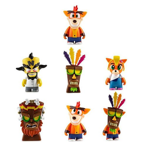 Crash Bandicoot Series Mini-Figures Display Tray