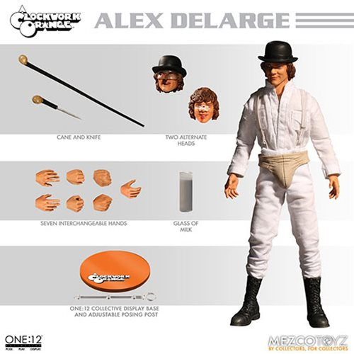 A Clockwork Orange Alex DeLarge One:12 Collective Action Figure