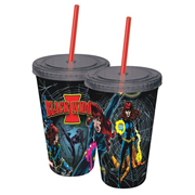 Black Widow Retro 16 oz. Travel Cup