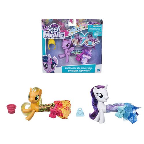 My Little Pony The Movie Land and Sea Ponies Wave 2 Case