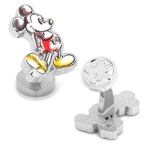 Mickey Mouse Watercolor Cufflinks