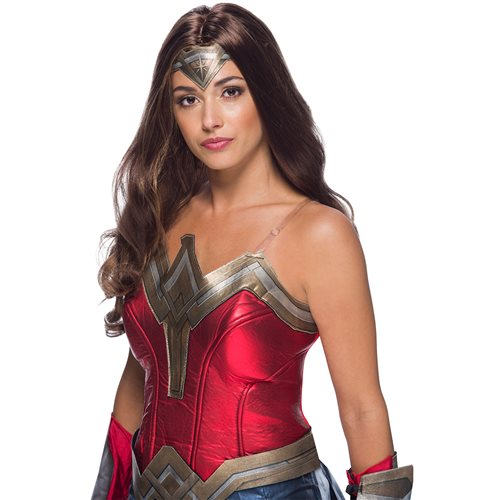 Wonder Woman Adult Deluxe Wig