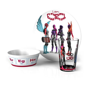 IAmElemental Elements of Power Courage Series 3-Piece Tableware Set