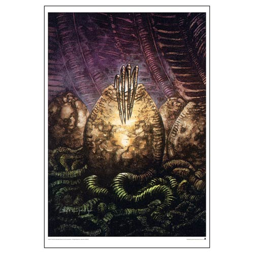 Aliens Theory of Propagation by John Bolton Paper Giclee Art Print