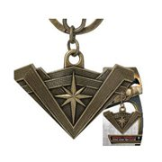 Batman v Superman: Dawn of Justice Wonder Woman Shield Pewter Key Chain