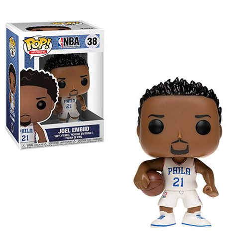 NBA Joel Embiid Pop! Vinyl Figure #38